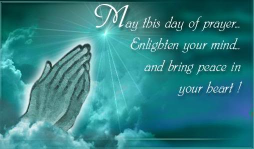 May This Day Of Prayer Enlighten Your Mind And Bring Peace In Your Heart Good Friday Wishes