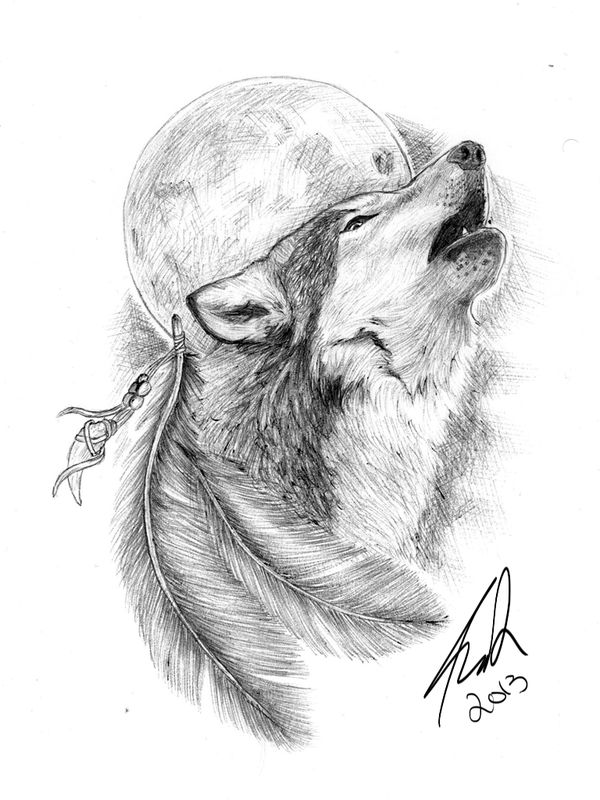 Howling Wolf Tattoo Tattoo Collections