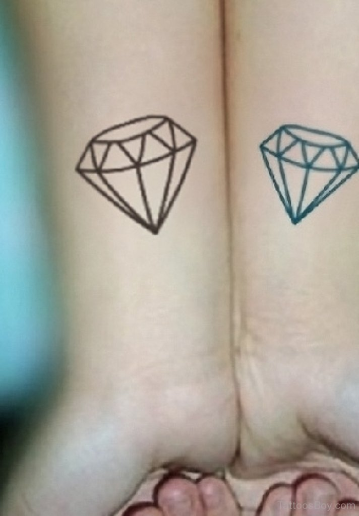 56+ Latest Diamond Tattoos Ideas