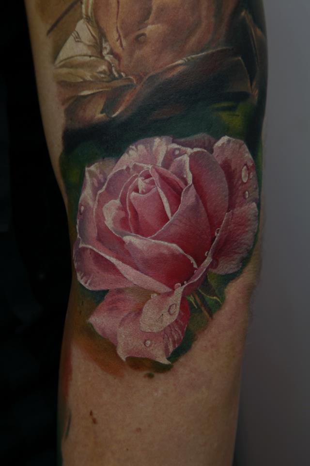 Dmitriy samohin tattoos for Pink ink tattoo