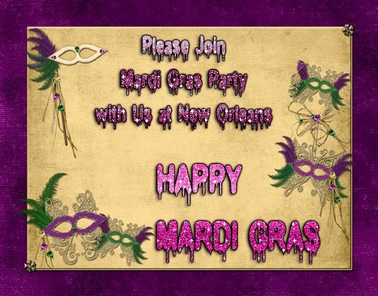 50 best mardi gras wish pictures and photos please join mardi gras party with us at new orleans happy mardi gras greeting card m4hsunfo
