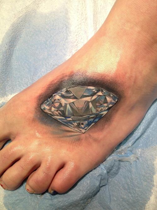 diamonds tattoos designs - photo #28