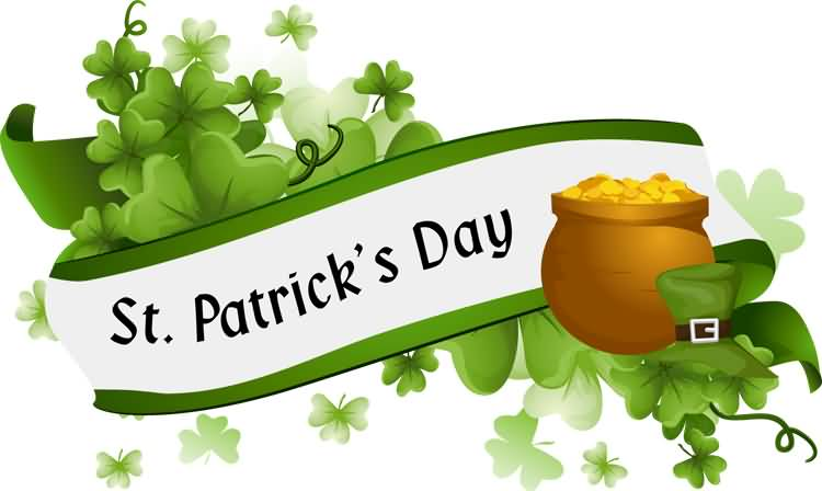 Saint Patrick's Day Pot Full Of Gold Picture
