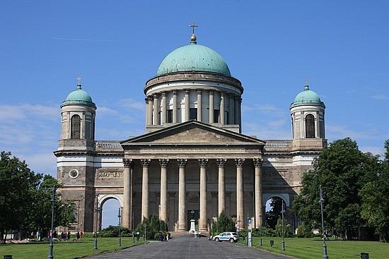 The Esztergom Basilica Front View
