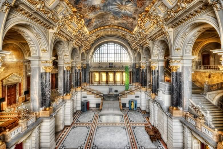 The Hungarian National Museum Interior View