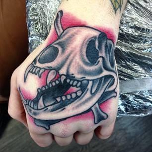 30 best tattoos ideas by popular artist sam ricketts for Animal hand tattoos