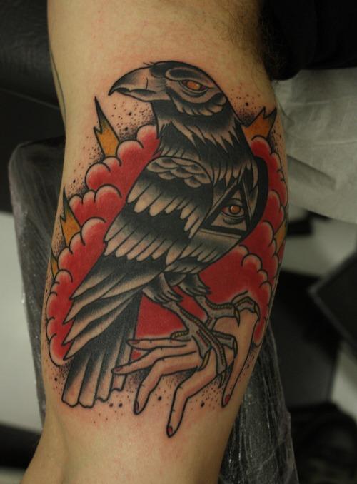 58 Best Crow Tattoos Ideas