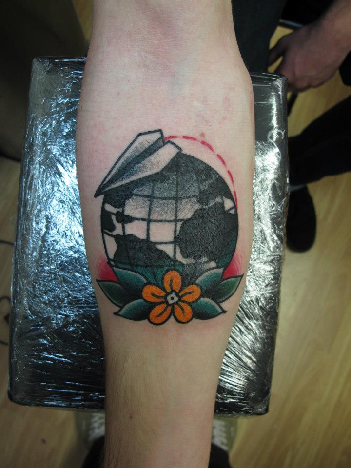 Forearm tattoos for Chris martin tattoos