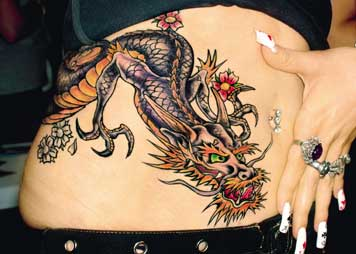 Roses And Butterflies Drawings 24+ Dragon Tattoos On ...