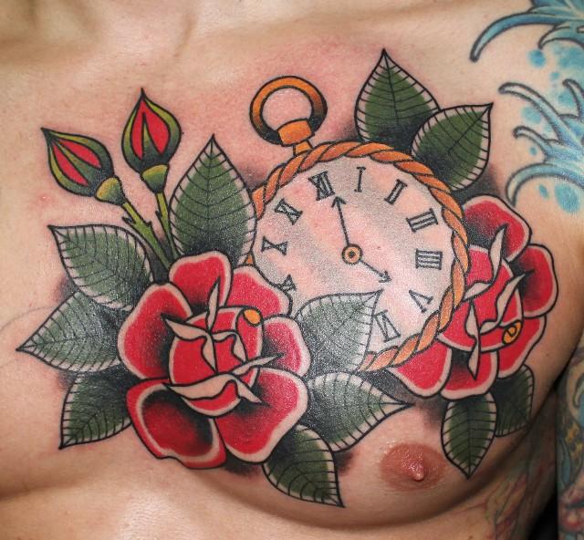 42+ Beautiful Chest Tattoos