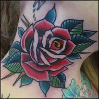 Side neck tattoos for Chris martin tattoos