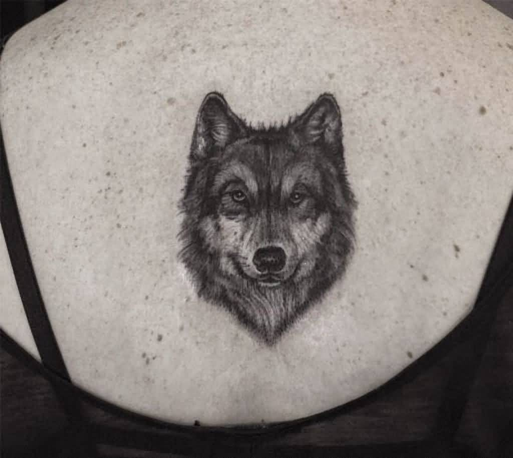 46 Unique Wolf Head Tattoos Ideas