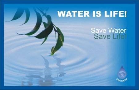 save water save life save world