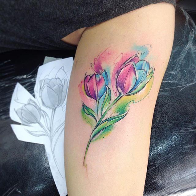 Tulip Tattoos - Askideas.com