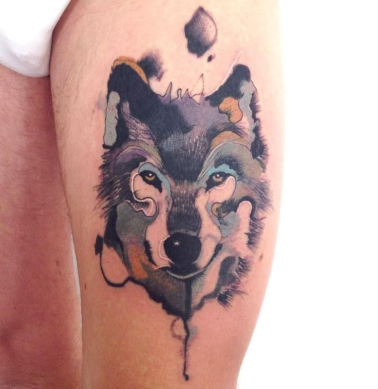 88c099457 57+ Best Wolf Tattoos Pictures And Ideas
