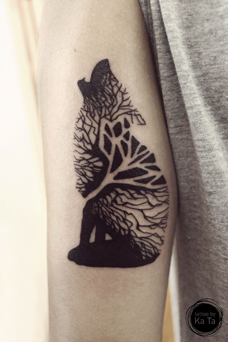 774b99863 57+ Best Wolf Tattoos Pictures And Ideas