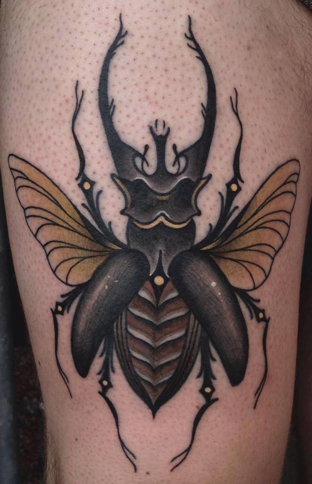 9 Half Sleeve Death Tattoos