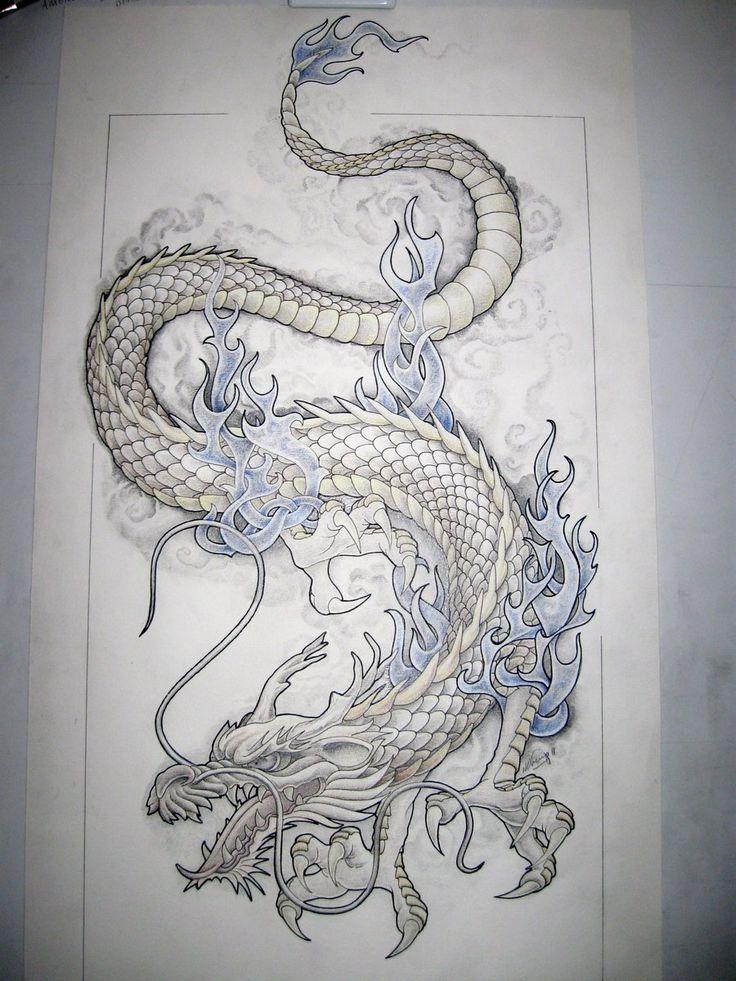 55 best dragon tattoos designs collection. Black Bedroom Furniture Sets. Home Design Ideas