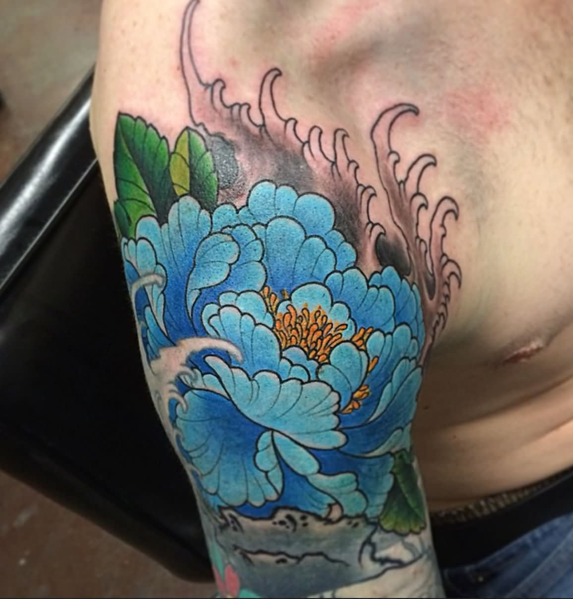 43 Japanese Peony Tattoos Collection: 50+ Traditional Peony Tattoos Designs And Ideas
