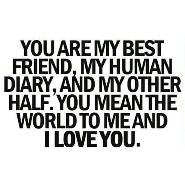 You Are My Best Friend My Human Diary And My Other Halfyou Mean