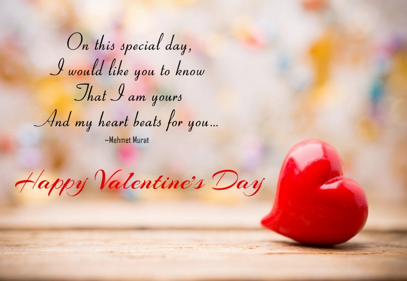 Good Morning My Love Happy Valentines Day : On this special day i would like you to know that am