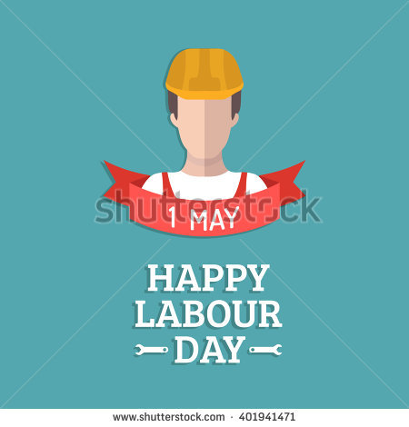 40 best labour day greeting pictures and images 1 may happy labor day worker illustration m4hsunfo
