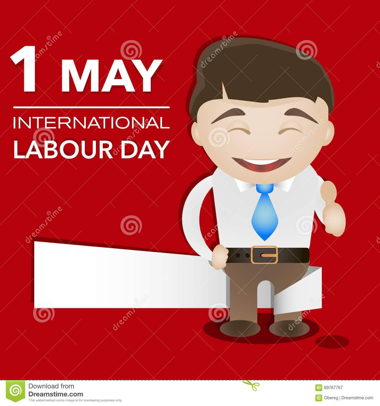 1 may international labor day greeting card 1 may international labour day happy man illustration kristyandbryce Image collections