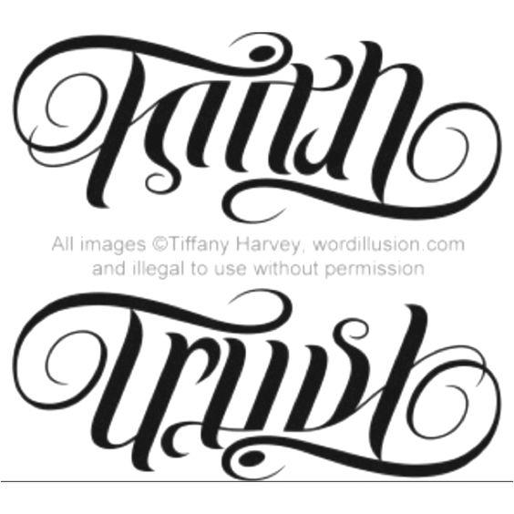 37 best ambigram tattoos design and ideas. Black Bedroom Furniture Sets. Home Design Ideas