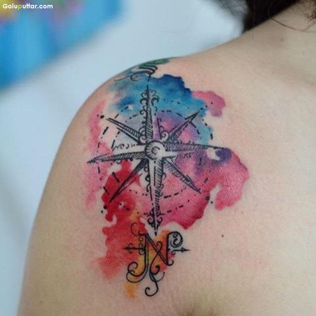28 Nice Aqua Color Tattoos: Askideas.com