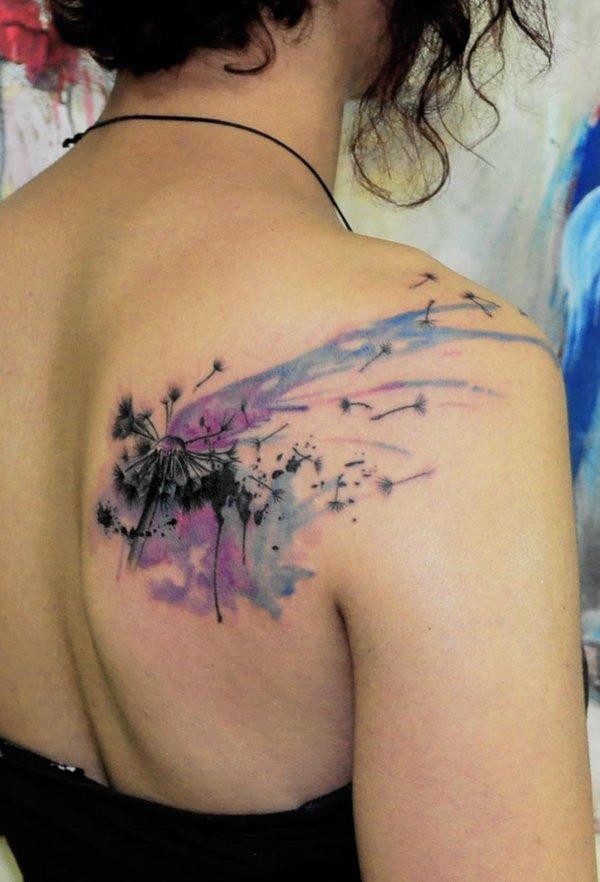 52 Best Dandelion Tattoos Design And Ideas