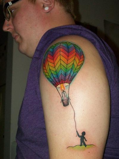 50+ Best Balloon Tattoos Design And Ideas