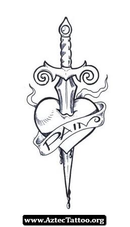 53 Best Dagger Tattoos Design And Ideas