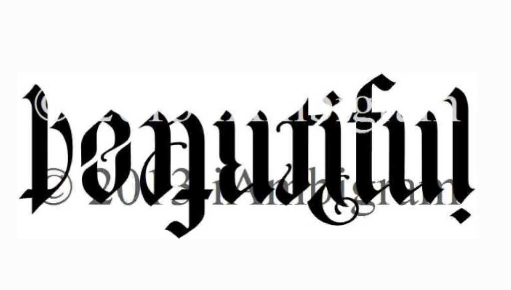 37+ Best Ambigram Tattoos Design And Ideas