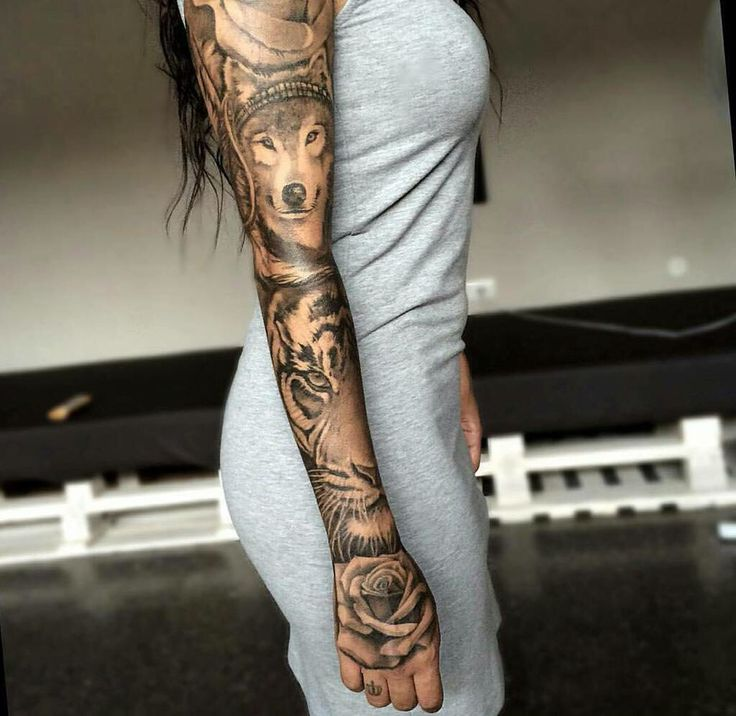 Sleeve tattoos frauen
