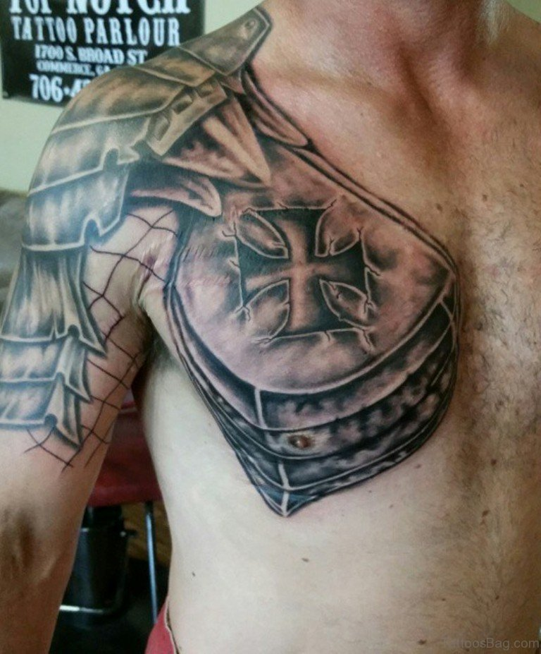 51 best armor tattoos design and ideas. Black Bedroom Furniture Sets. Home Design Ideas
