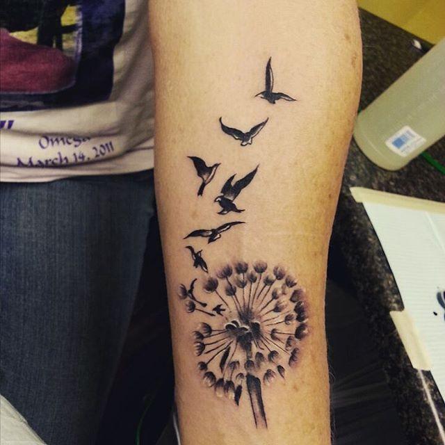26 Dandelion Tattoo Designs Ideas: 52+ Best Dandelion Tattoos Design And Ideas