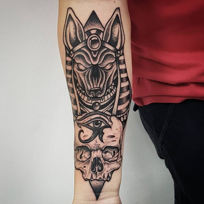 51+ Best Anubis Tattoos Design And Ideas