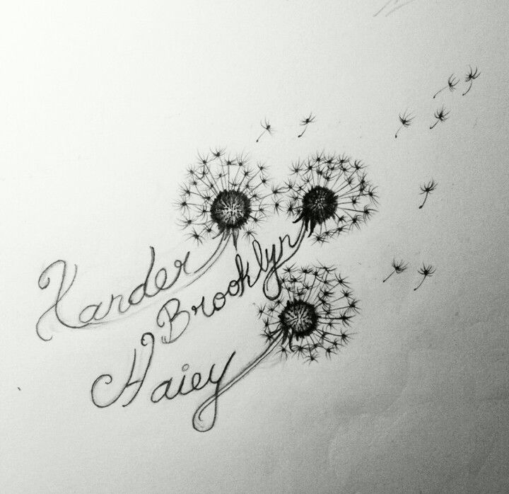 Dandelion Tattoos Designs Ideas And Meaning: 21+ Awesome Dandelion Tattoo Designs