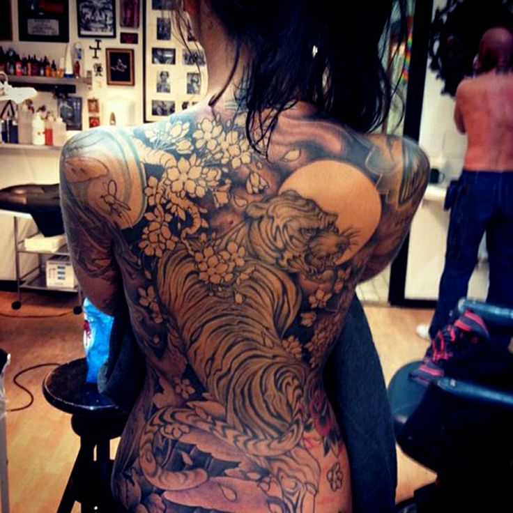 Asian gallery photo tattoo woman