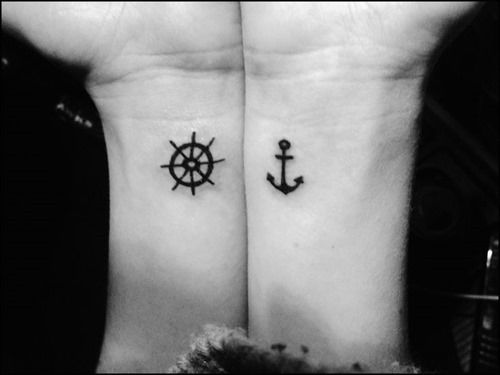 63 best anchor tattoos design and ideas for Anchor tattoos for couples