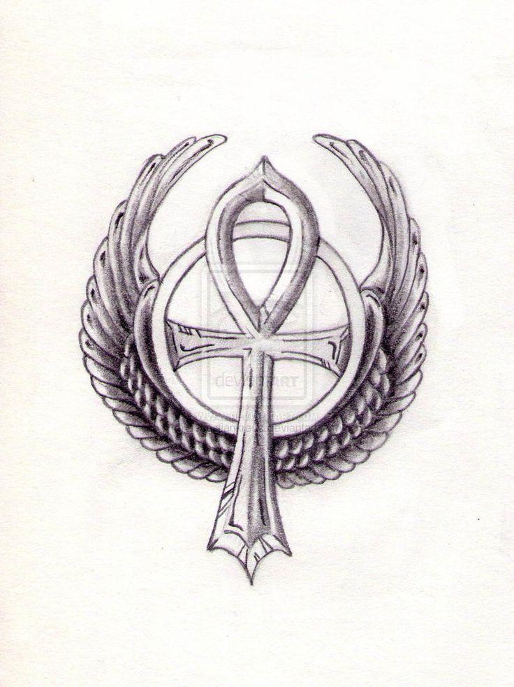 Woman Ankh Tattoo Designs: 63+ Best Ankh Tattoos Design And Ideas