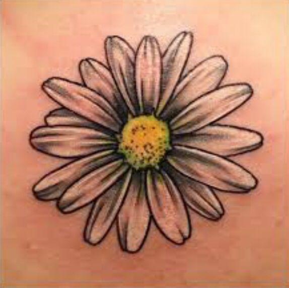 classic daisy flower tattoo design rh askideas com gerbera daisy tattoo small Daisy Flower Tattoo Designs