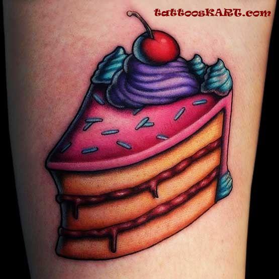 Tattoo Birthday Cake Ideas