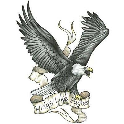 51 best eagle tattoos design and ideas. Black Bedroom Furniture Sets. Home Design Ideas