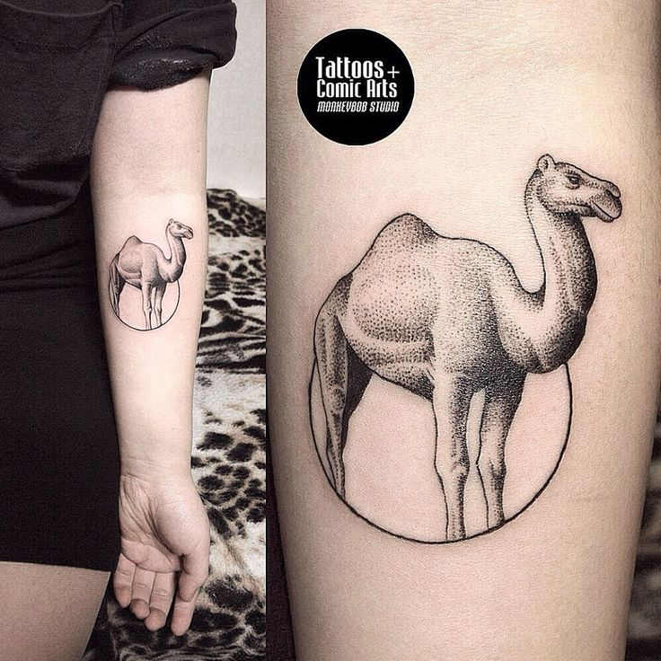50 best camel tattoos design and ideas. Black Bedroom Furniture Sets. Home Design Ideas