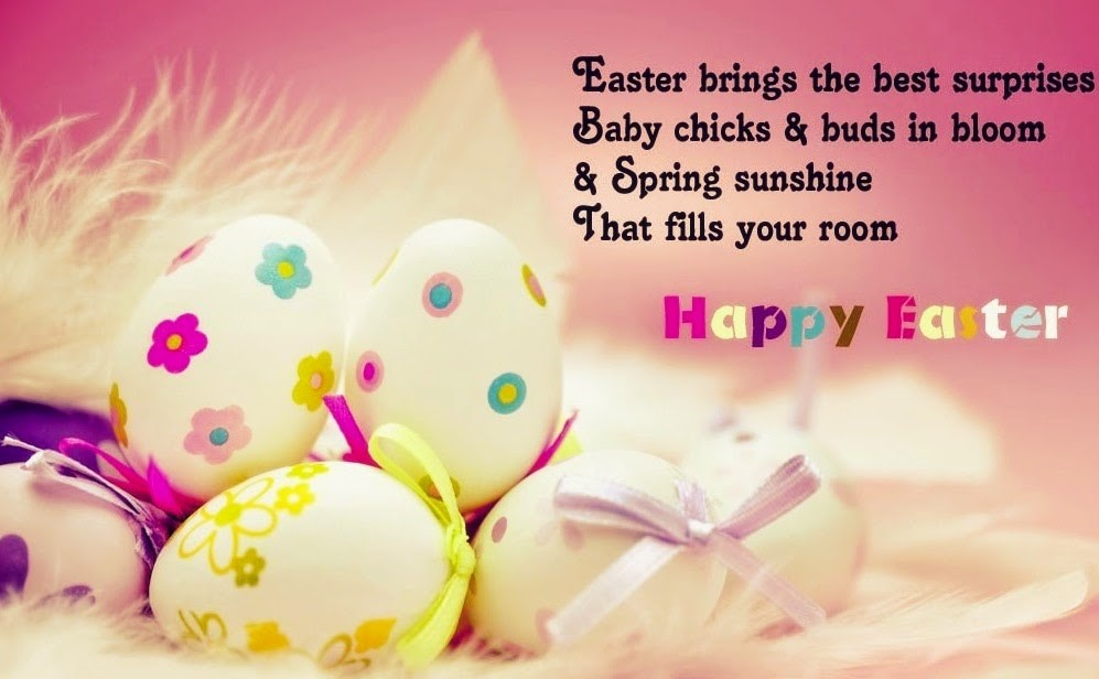 Easter Brings The Best Surprises Baby Chicks & Buds In Bloom & Spring Sunshine That Fills Your Room Happy Easter