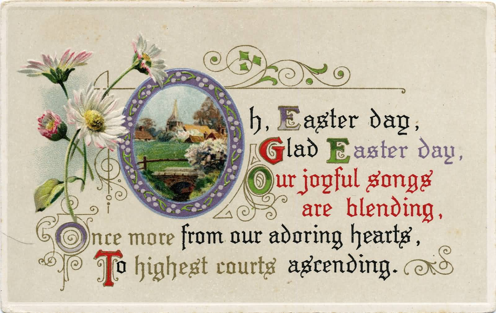 Easter Day Wishes Card