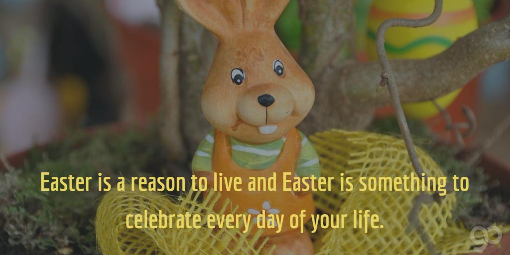 Easter Is A Reason To Live And Easter Is Something To Celebrate Every Day Of Your Life