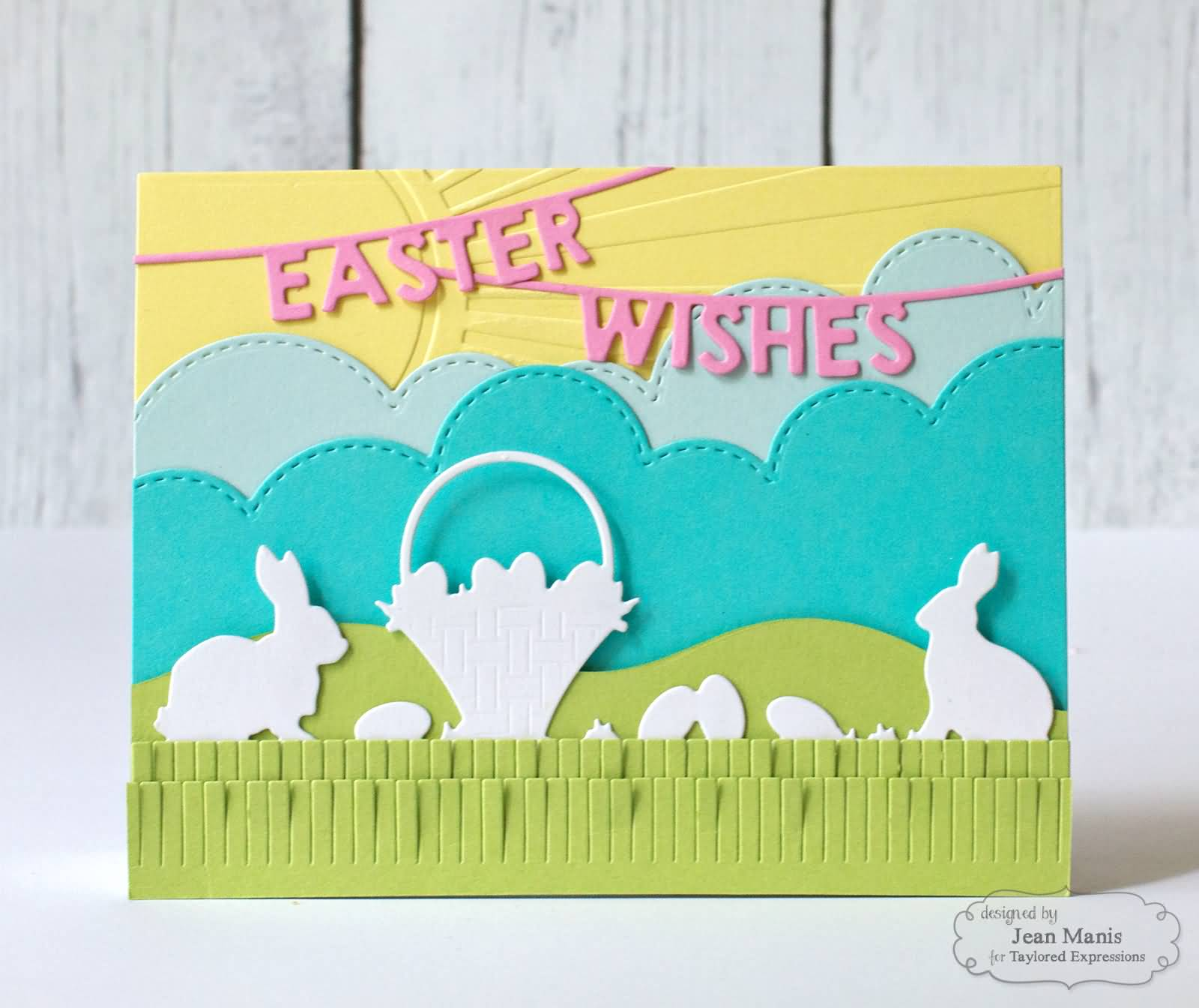 Easter Wishes Adorable Greeting Card