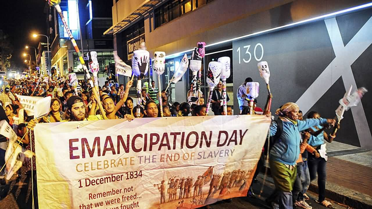 Emancipation Day Celebrate The End Of Slavery